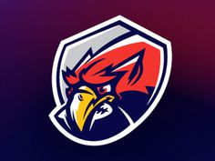 Gryccifi_dribble #vector #griffin #logo #football #awesome