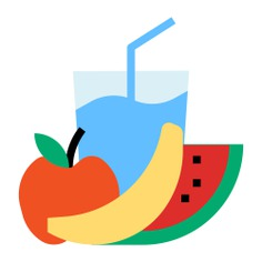 See more icon inspiration related to fruit, breakfast, drink, food, fresh, banana, refresh, watermelon, straw, juice, healthy food, beverage, water glass, orange, refreshment, food and restaurant, citrus fruit and refreshing on Flaticon.