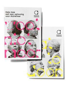 Studio Dumbar: Alzheimer Nederland Visual Identity