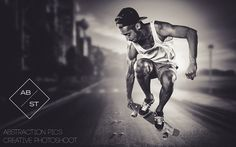 Abstraction pics on the Behance Network #photography #skateboarding #people