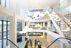 Exquisite Design for Utility Company Headquarters: Nuon Offices in Amsterdam #exquisite #modern #office #design #architecture #company