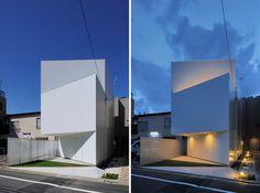 akio takatsuka aaat well house tokyo japan designboom #architecture #japan #white