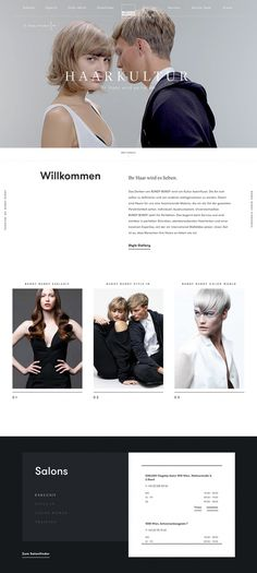 Bundy made by wild style head hair modern beautiful website webdesign blog design austria graz vienna mindsparkle mag