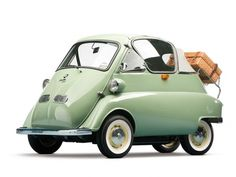 1956 BMW ISetta cabrio for sale front #car