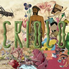Criolo - Convoque Seu Buda (2014) album cover #criolo #album #cover #artwork #graphicdesign