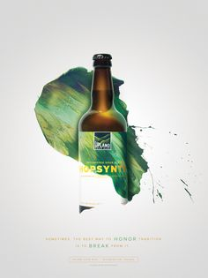 Upland Sour Ales: Hopsynth #Upland #Sour #Beer #Bottle #Packaging #Cina #Poster