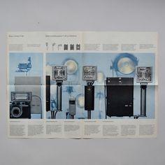 Braun Blitzgeräte für Hobby und Beruf Wolfgang Scheitel 1960 via www.dasprogramm.org
