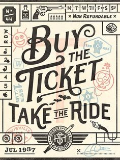 Typeverything.com, Commoner, Inc - Typeverything #buy #typography #vintage #type #ticket