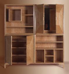 Living room cabinet on Behance