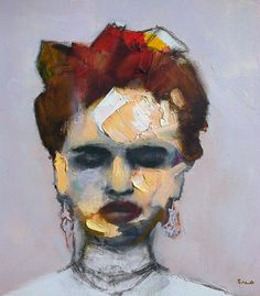 I need a guide: steve salo #painting #portrait #art #oil