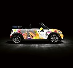 Cool Hunter - Mini Cooper on the Behance Network #mini #print #design #fluidesign #car