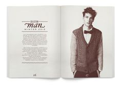SPRINGFIELD LOOKBOOKS on Behance #print #minimal #lookbook