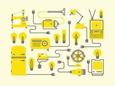 Positive Electric #icon #symbol #picto