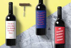 Typewine - Unique labels for wine bottles.