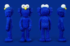 """KAWS Unveils """"BFF"""" Sculpture and Collection at Central Embassy Bangkok The artist's newest blue-furred mascot will be making his debut app"""