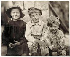 Niños de la calle fotografiados por Dorothea Lange