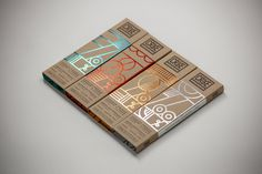 Crude chocolate branding by Happy Centro