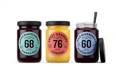Danish Selection Alcohlic Jam Branding Packaging Kontrapunkt Orkla Foods Danmark www.mindsparklemag.com
