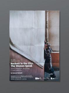 #design #poster #urbend #theatre #beckett @urbend