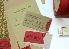 Wild Olive : Lovely Stationery . Curating the very best of stationery design #wild #olive #stitch #stationary