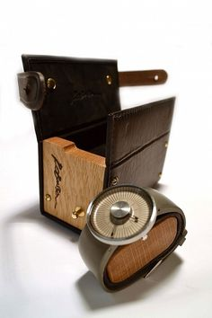 Handmade watch luggage. #packaging #design #wood #case #leather #watch
