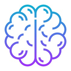See more icon inspiration related to brain, healthcare and medical, cerebral, human brain, anterior part, brain anterior, body organ, organ, body part and medical on Flaticon.
