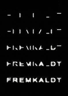 Fremkaldt, Poster - Mega – Visual Personality #poster