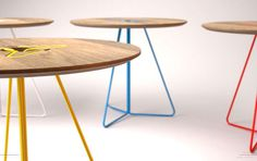 Color, Simple Lines and Functionality by Two.Six simple lines functionality two sixrich 2 #furniture #design #modern