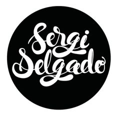 Sergi Delgado, personal lettering