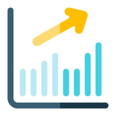 See more icon inspiration related to growth, graph, business and finance, seo and web, bar chart, up, finances, bars chart, stats, growing, bar graph, increase, statistics, business, bars, graphic and arrows on Flaticon.