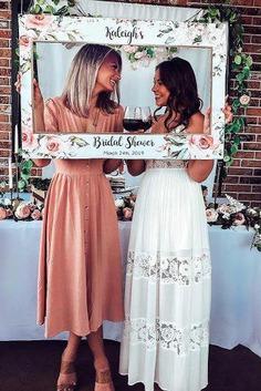 wedding photo checklist bridal shower friends