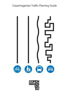 Copenhagenize.com - Bicycle Culture by Design: Straightforward #copenhagen #poster #typography