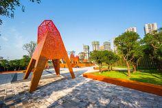 Dynamic Mountain Park by Martha Schwartz Partners - #architecture, architecture