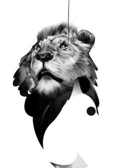 All sizes | Lion 01 | Flickr - Photo Sharing! #lion #illustration #hellovon #hello #von #drawing