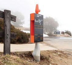 FALLS CREEK ALPINE RESORT - Büro North #signage #map #wayfinding