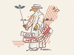 Love Thy Neighbor x Colour and Lines Tattoo