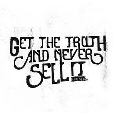 GET THE TRUTH - Hey Brandon! #brandon #charles #febson #typography