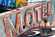 Typographic oasis: TheNeonBoneyard: idsgn (a design blog) #motel #bone #yard
