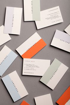 Tamarindo. on Behance #identity #stationery #cards