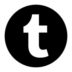 See more icon inspiration related to tumblr, social normal, logotype, logo, symbol, symbols and social on Flaticon.