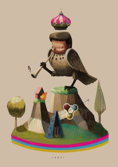 Alejandro sordi #illustration #bird