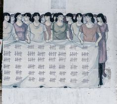 Elimination of Violence Against Woman #woman #mural #of #elimination #b #violence #against
