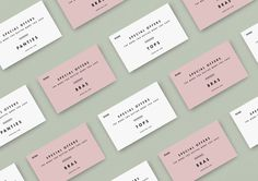 ANGELINA by Whiskey & Mentine #business #branding #card #print #direction #photography #art