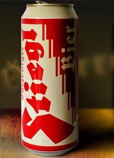 Best Typographic Beer Labels | Typophile #beer #lettering #packaging #blackletter #typography