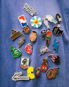 pins badges enamel kanye odd future murakami carrot