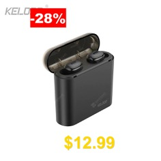 Kelodo #S690 #Wireless #5.0 #Bluetooth #Earphone #Mini #Dual #HiFi #Stereo #Earbud #with #Mic #for #Sports
