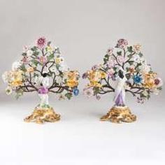 A pair of extraordinary ormolu candlesticks with Meissen figurines #Sets #Teasets #Porcelainsets #Antiqueplates #Plates #Wallplates #Figures #Porcelainfigurines #porcelain