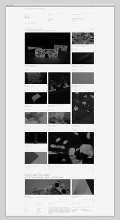 Murmure #website #layout #design #web
