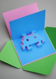 (19) Federica Cavalli / Pinterest #greeting card #popup