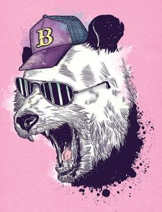 Animal Gangs on the Behance Network #illustration